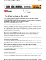 116C_2011_ICE_WARS_Heating_up_the_Arctic_CNN_Special_Report_Transcript_July_23_2011