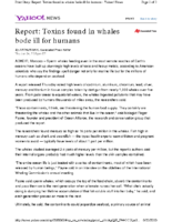 116H_2010_Researchers_Report_Stunning_Levels_of_Toxins_Found_in_Whales_Threatening_Human_Food_Supplies_June_24_2010_Associated_Press_
