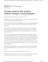116K_2011_Geoengineering_University_of_Idaho_Takes_Lead_in_USDA_20Million_Climate_Change_Research_Project_KLEWTV_News_FEB_20_2011-pdf