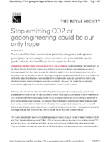 116R_2009_Geoengineering_August_28_2009_Science_Governance_Uncertainty_http_royalsociety
