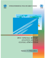 116V_1999_IPCC_Aviation_and_Global_Atmosphere_Note_Aviation_Impact_on_Climate_Natural_Resources_Pollution_Man_Made_Clouds