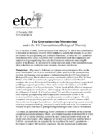 116Y_2010_ETC_The_Geoengineering_Moratorium_Under_the_UN_Convention_on_Biological_Diversity_NOV_10_2010_ETC_Group-pdf