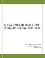SustainableDevelopmentProgramReview