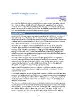 AntibodyTestingForCOVID